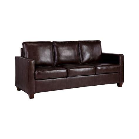 square arm bonded leather sofa threshold ebay