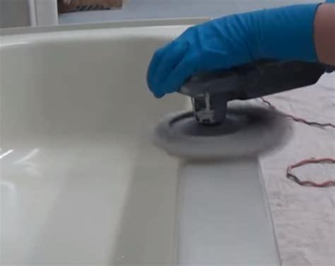 professional polish  bathtub