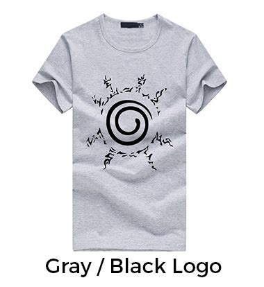 New Product Kaos Anime Seal Kyuubi kyuubi seal tshirt assorted colors for sale