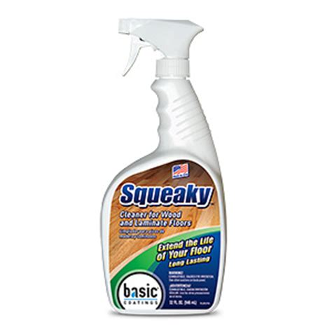 basic coatings squeaky floor cleaner spray 32oz las hardwoods