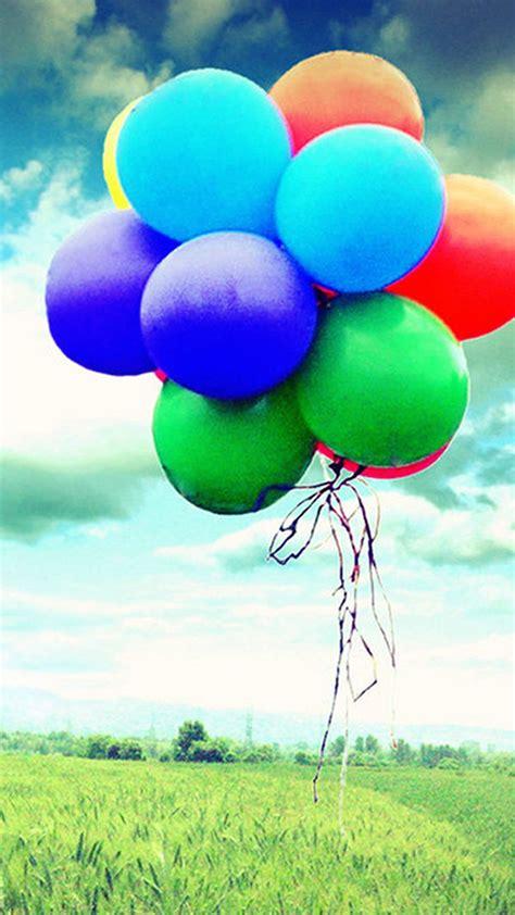 colorful balloons wallpaper colorful flying balloons hd wallpaper 7382
