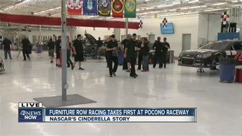 welcome to furniture row youtube furniture row racing team back at work after winning