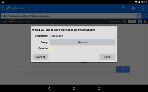 msecure for android msecure password manager appstore for android