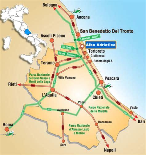 dell adriatico avezzano cartina abruzzo alba adriatica my