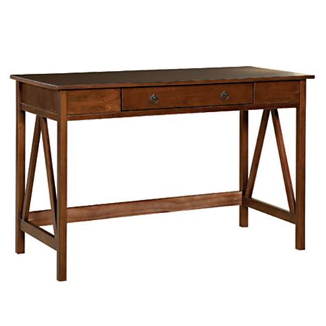 linon home decor products linon home decor products titian desk antique tobacco by