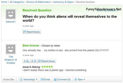 quiero verga yahoo funny yahoo answers questions newhairstylesformen2014 com