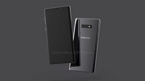 samsung 9 note samsung galaxy note 9 leaks show upgraded galaxy note 8