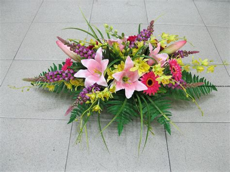 arrangement flowers unique table flower arrangement flower