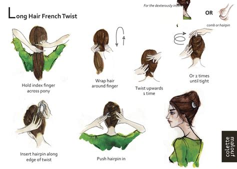how to do french twist hairstyle 10 summer hair looks whoorl