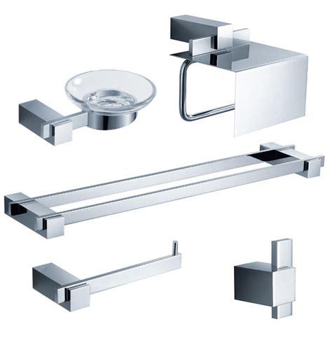 fresca bathroom accessories fresca fac1400 d ellite 5 piece bathroom accessory set in