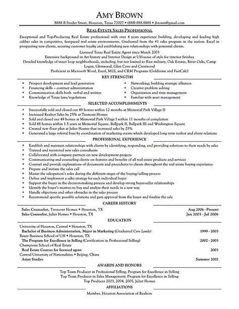 real estate resume exles real estate resume is commonly