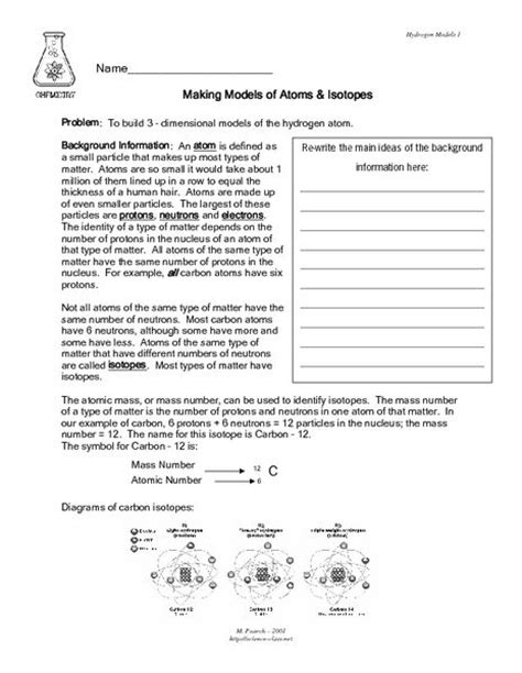 Isotopes Worksheet by Isotopes Worksheet High School Chemistry Isotopes Ions
