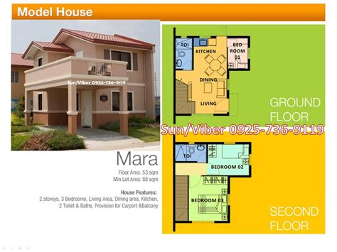 100 camella homes floor plan philippines marga