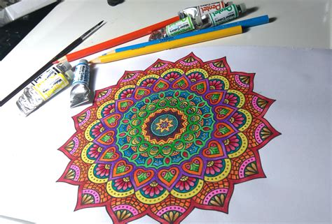 what colored pencils are best for coloring books mandala coloring watercolors and colored pencils