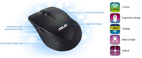Mouse Wireless Asus wt465 keyboards mice asus global