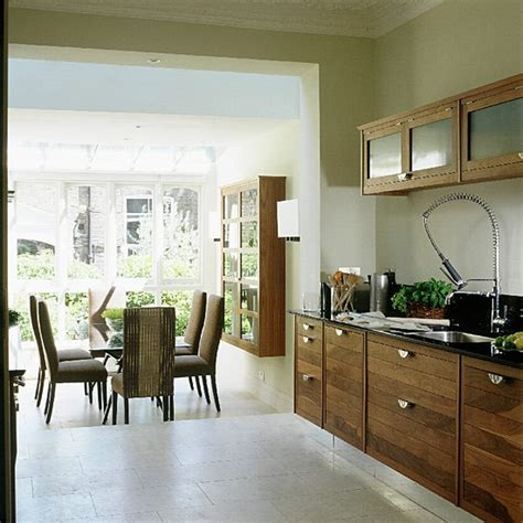 kitchen dining design ideas walnut kitchen and dining room extension kitchen