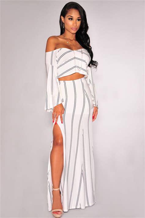 30708 White Informal V Neck Dress Dress Kode Vc6136 1 the shoulder maxi dress white 20 great ideas dresses ask
