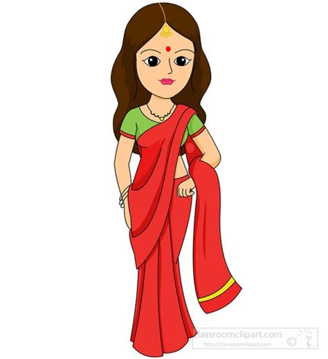 indian clipart traditional costume clipart indian pencil and in