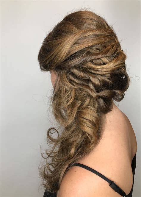 first styling at a professional hair salon hair care talk hair styling salon services blow dry up do waves curls