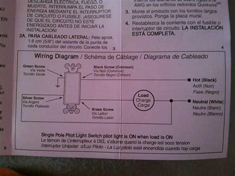 electrical how do i install a single pole switch w