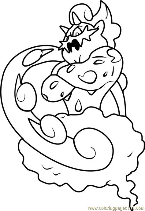 pokemon coloring pages thundurus thundurus pokemon black and white picture to color at
