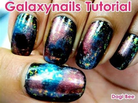 Youtube Nägel Lackieren by Galaxy Nails Tutorial Dagi Bee Youtube