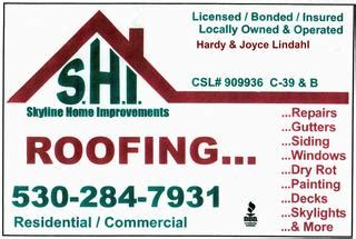 skyline home improvements greenville ca 95947 530 284 7931