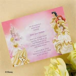 disney princess bridal shower invitations images
