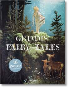 grimms fairy tales poster set taschen books