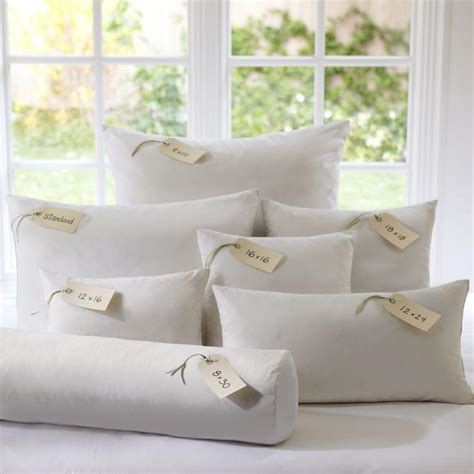 Pottery Barn Pillow Inserts by Pottery Barn 18x18 Feather Pillow Insert For 4 79