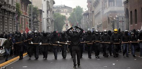 www march on line riot clash with may day protesters around the world