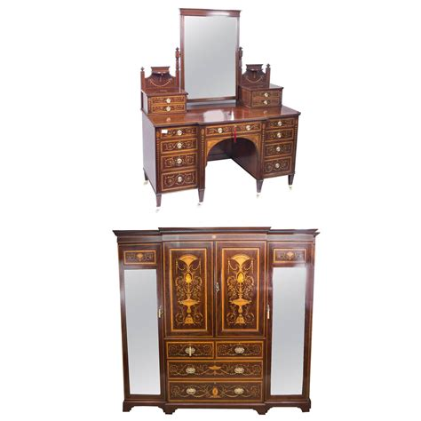 antique bedroom suite maple and co circa 1880