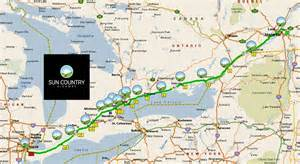 Electric Vehicle Roadmap Canada Highway 401 In Canada Now Electrified Ev Travel From