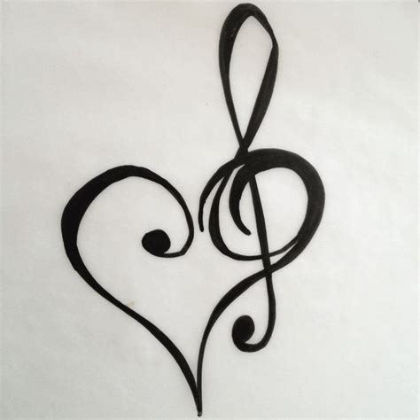 treble clef tattoo design 17 best images about treble clef on cross