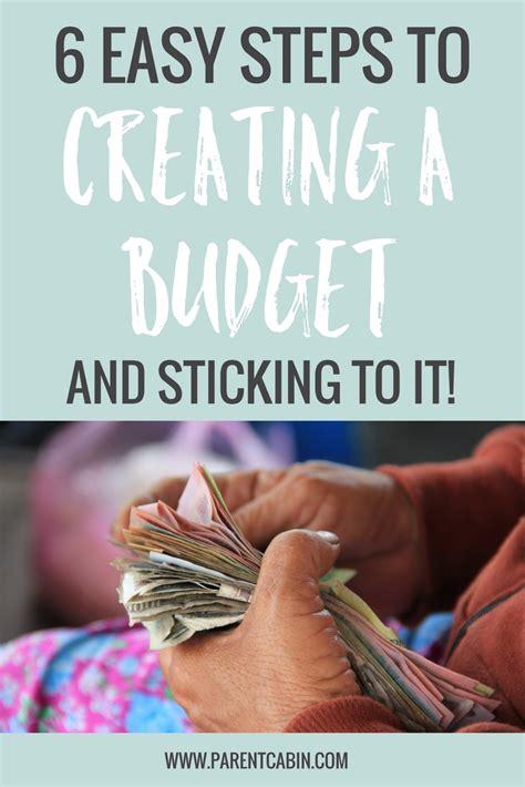 steps  create  budget  stick
