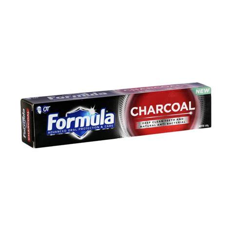 Pasta Gigi Formula Or jual pasta gigi formula nana charcoal 160 gr
