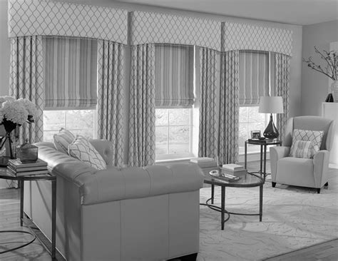 crescent window coverings custom crescent upholstered cornices c2