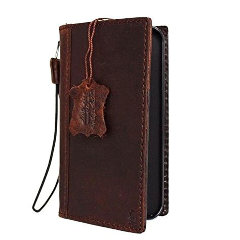 genuine italian leather for iphone 6 book wallet