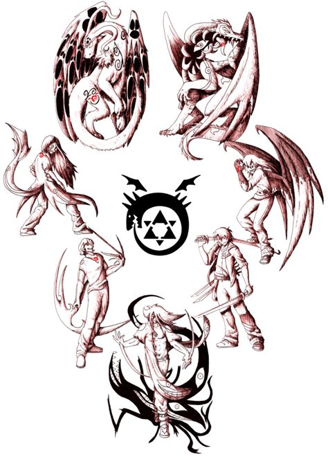 7 sins tattoo the seven deadly sins by flaresiram on deviantart