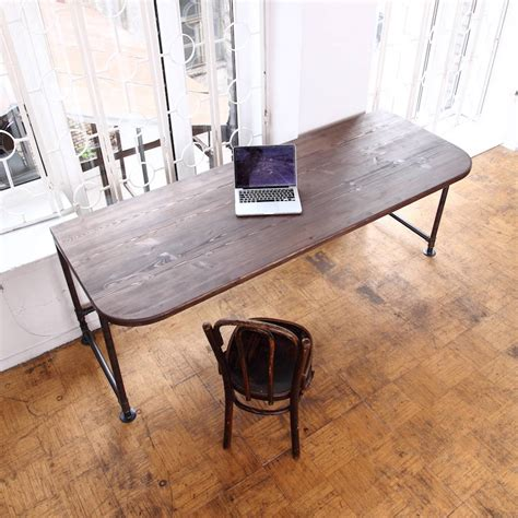 industrial style office desk industrial style office desk by cosywood