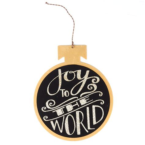 quot joy to the world quot christmas ornament what s new