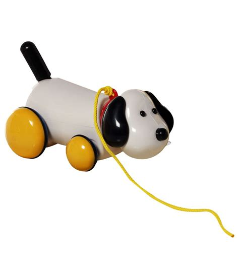 winfun pull along puppy 12m winfun white pull along for buy winfun white