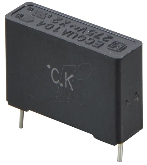 capacitor x2 pan x2 100n noise capacitor x2 275vac 10 0 10 194 181 f at reichelt elektronik