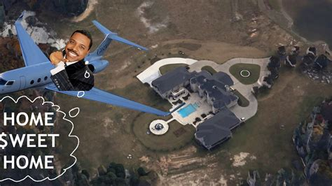 creflo dollar house creflo s crib metro atl mansion of a jet setting reverend curbed atlanta