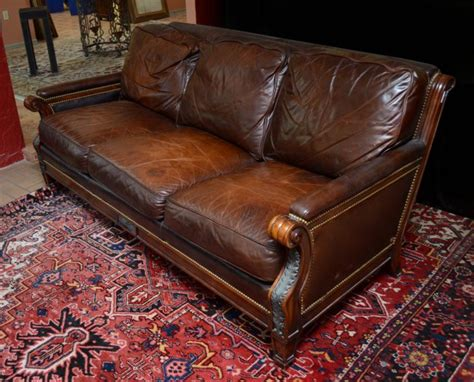 sherrill leather sofa whittemore sherrill leather sofa prices 28 images