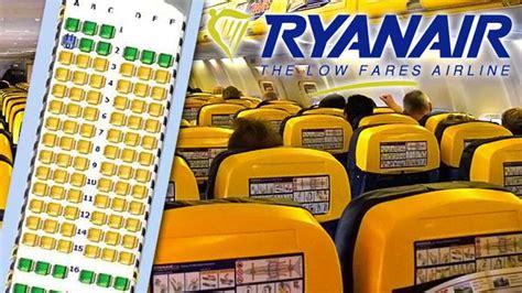 posti a sedere ryanair ryanair come funzionano i quot posti assegnati quot voli
