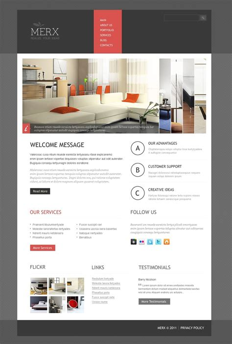wordpress themes interior design interior design wordpress theme 37004
