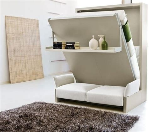 sofa comfy murphy bed with pin by ainhoa mart 237 n rosas on espacios reducidos small