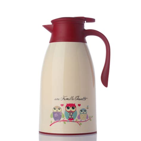 Delvonta Vacuum Jug 1 6 Liter מוצר fashion owl cat 1 6l 1 9lthermo jug heat