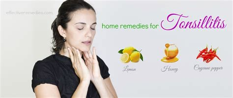 25 home remedies for tonsillitis